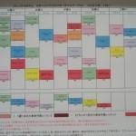 1月8日(金)からのタイムテーブル